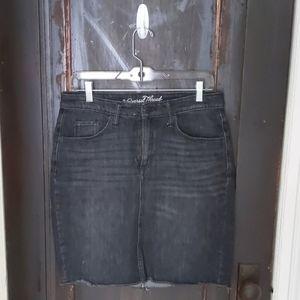Universal Thread denim pencil skirt
